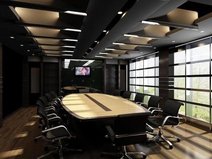 Sala konferencyjna w nowoczesnym biurze