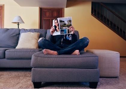 Sofa wypoczynkowa bez boków