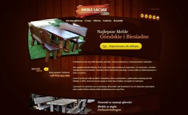 Drewniane meble Łaciak